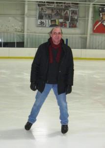 Brad ice skating