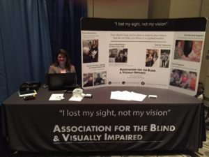 ABVI display at conference