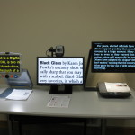 CCTV models displayed