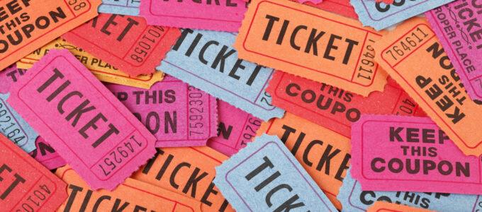 Raffle Ticket from Shutterstock